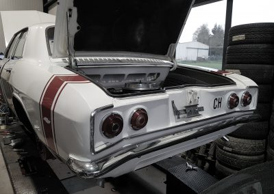 Chevrolet Corvair Heck