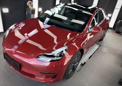 Tesla Keramikversiegelung