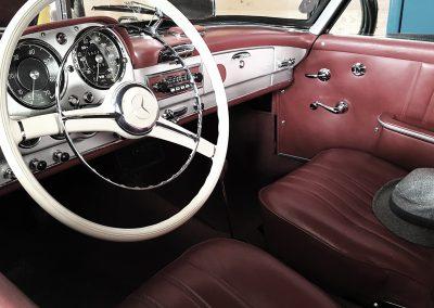 Mercedes 190 SL Innenraum