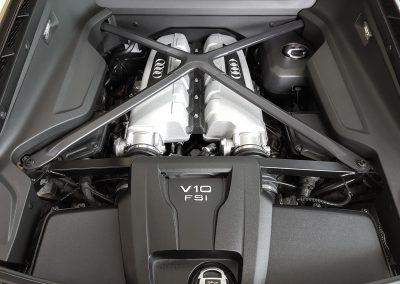 R8 V10 Motorraum